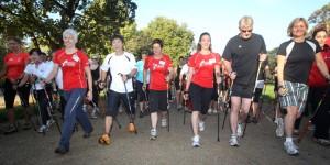 British Nordic Walking 5K Nordic Walk for Children in Need - London